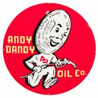 """ANDY DANDY 30"""" SIGN"""