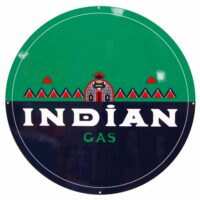 """INDIAN GAS 30"""" SIGN"""