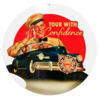 """SHELL CONFIDENCE 30"""" SIGN"""