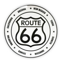"""ROUTE 66 SHIELD STATES 30"""" SIGN"""