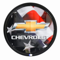 CHEVY FLAG LIT CAN