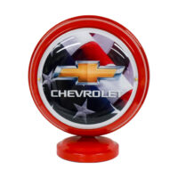 CHEVY FLAG MINI GLOBE