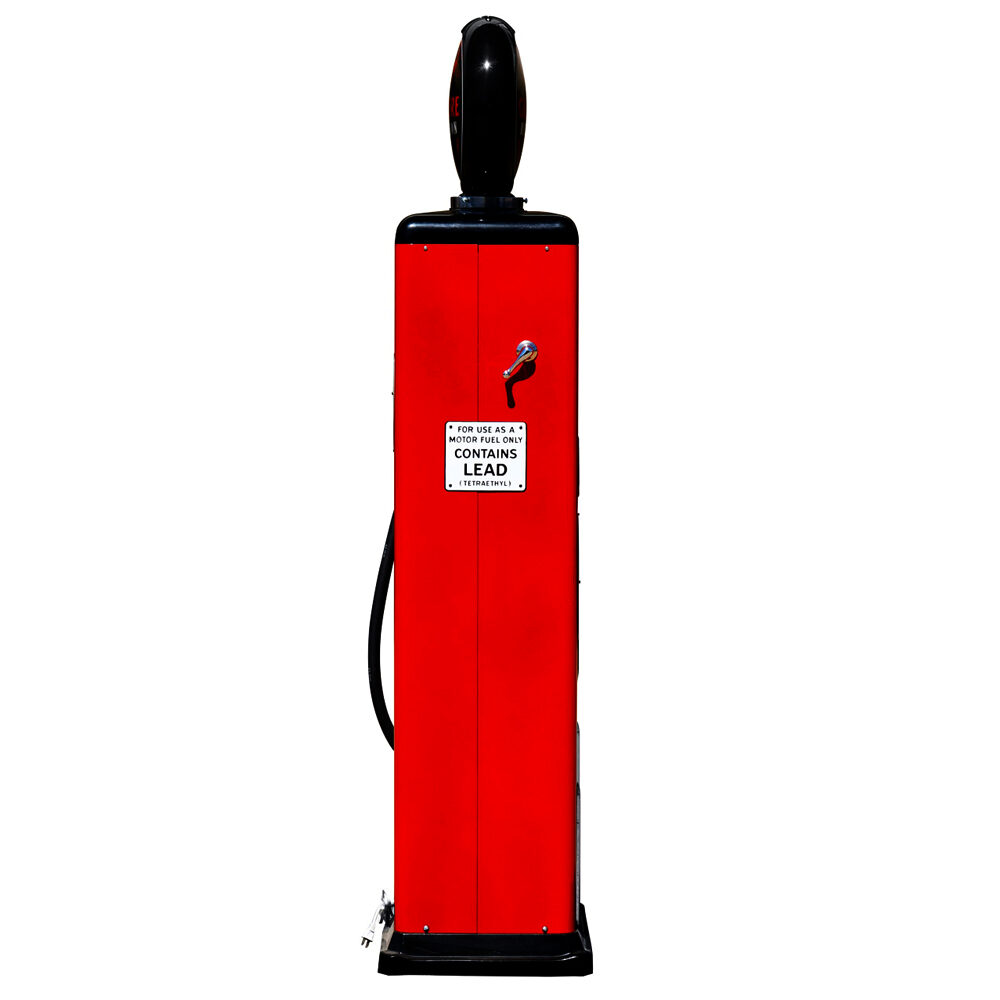 8 Ball Electric Pump With Base -<br />(Red & Black)