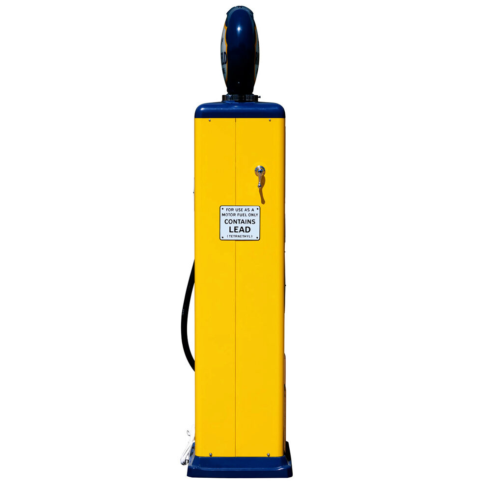 8 Ball Deluxe Electric Pump w/Base -<br />(Yellow & Blue)