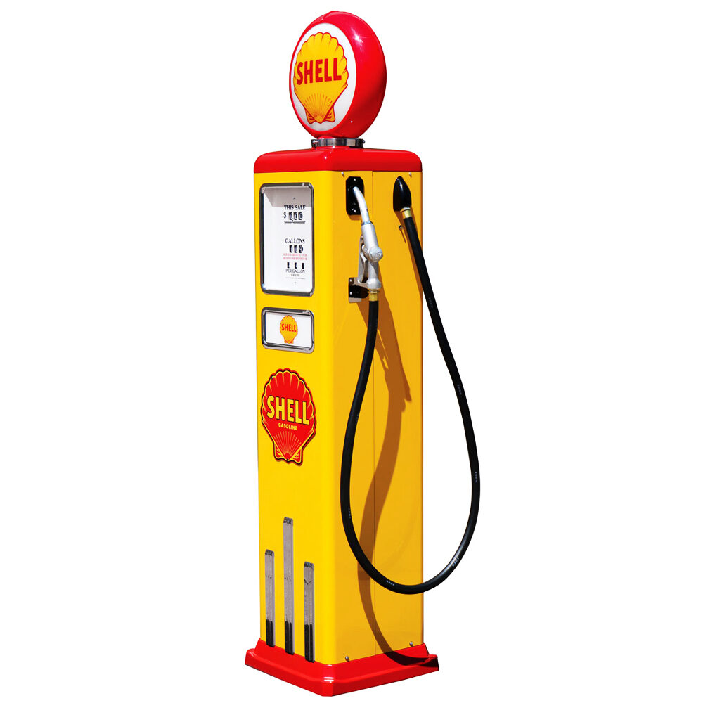 8 Ball Deluxe Electric Pump w/ Base (YELLOW & RED)